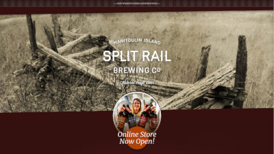 Split Rail Brewing Co. coming soon page